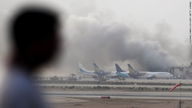 Karachi International Airport Attacked By Militants