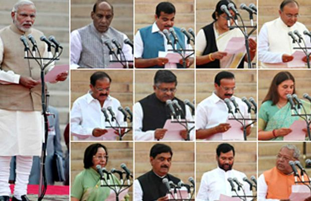 Narendra Modi's Cabinet Ruled By Lawyers