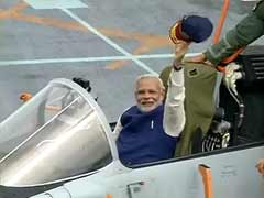Prime Minister Narendra Modi Boards largest Aircraft Carrier INS Vikramaditya