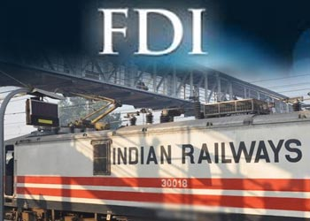 Image result for FDI in Railways