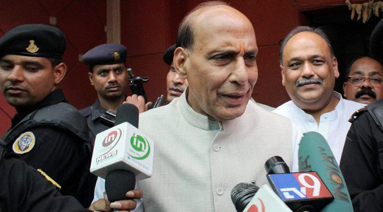 AFSPA WILL REVOKED IN KASHMIR - RAJNATH