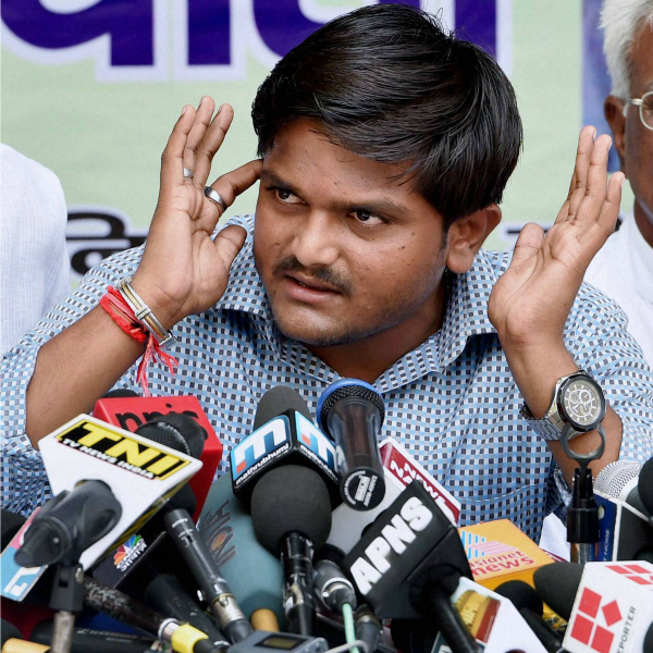Hardik meets press