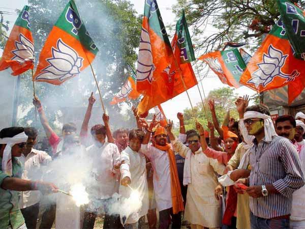 news datel on BJP bags RSS