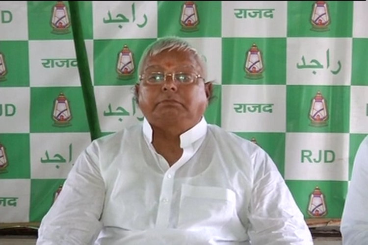news on Lalu said he is ready to get hanged
