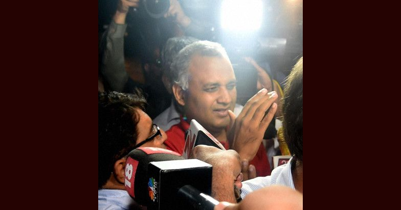 news on Somnath Bharti was sent for two days PC