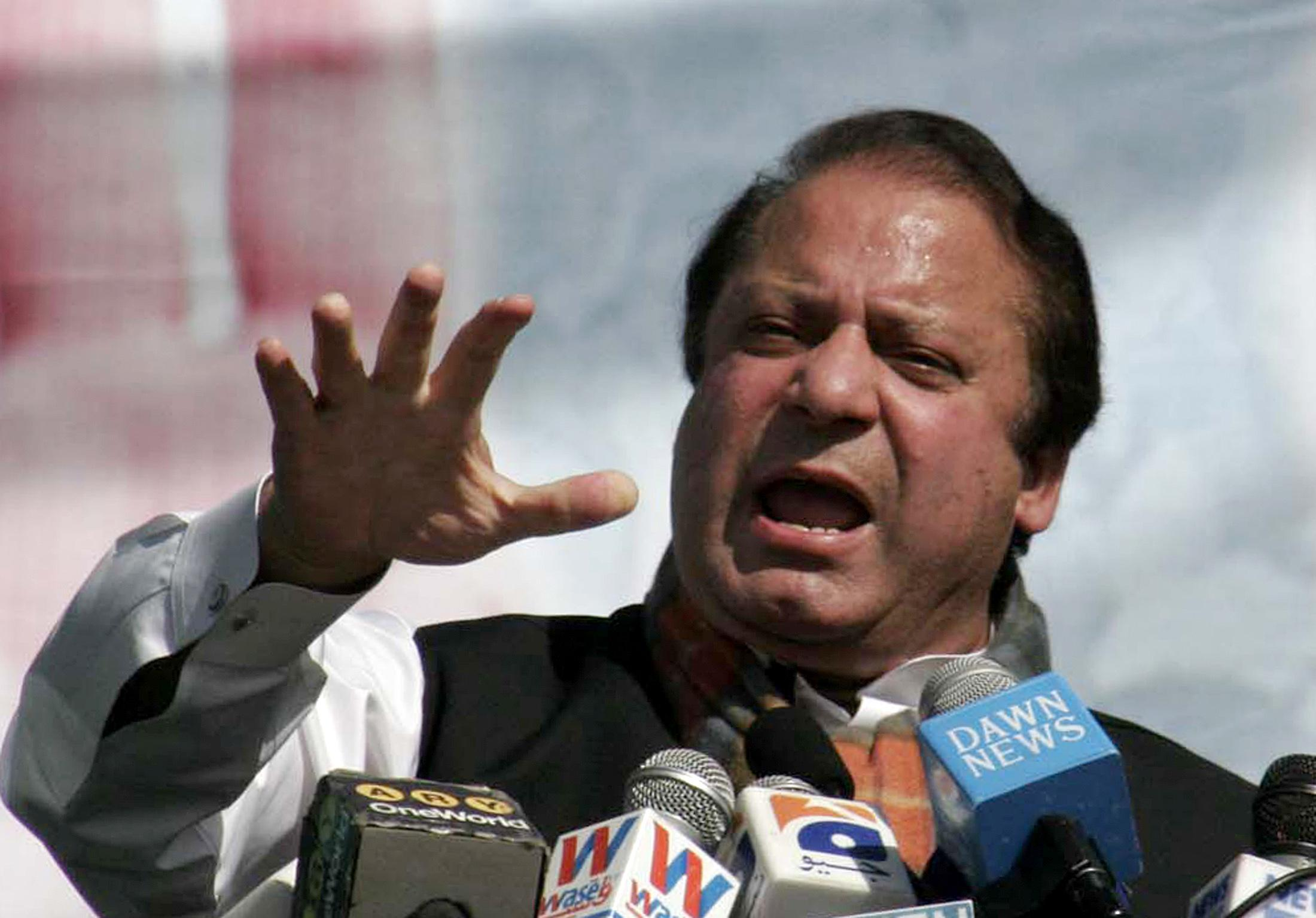 Sharif comments on Indo-Pak War Scenario