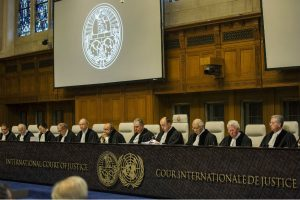 The International Court Of Justice Bench