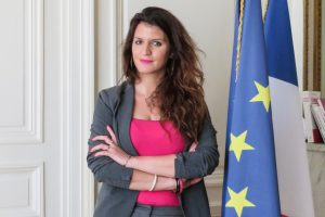 France's secretary for gender equality ,Marlene Schiappa's initiative on Catcalling.
