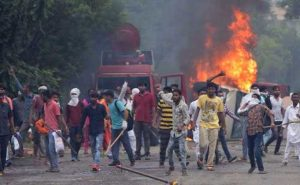 Violent outburst in Punjab and Haryana on the conviction of Ram Raheem in Rape case