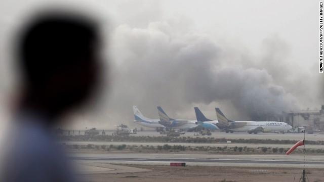 Karachi International Airport Attacked By Militants