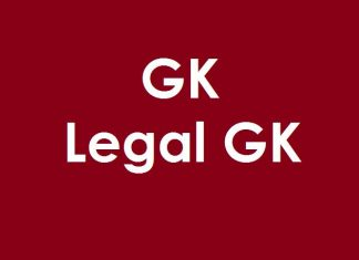 Legal GK - General Knowledge on Legal