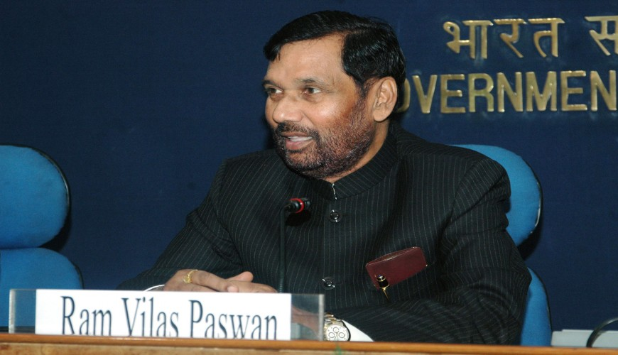 """Implementation of National Food Security Law, covering the entire nation from November and majorly two states Kerela and Tamil Nadu, entailing an annual subsidy of over Rs.1.4 lakh crore is coming on board, said the government today. As many as 80 crore people are covered under this law across 36 states and union territories. Food Minister Ram Vilas Paswan very proudly said at a press conference, """"When we came to power the food law was being implemented only in 11 states. I am happy to share that food security law is being implemented in all states and union territories"""", he said. He further said that only two states, kerala and Tamil Nadu were left, and they too are now being brought under the law from this November, he said."""