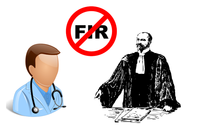 No FIR against an Advocate and Doctor says Supreme Court of India