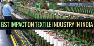 gst impact on textile industry of india