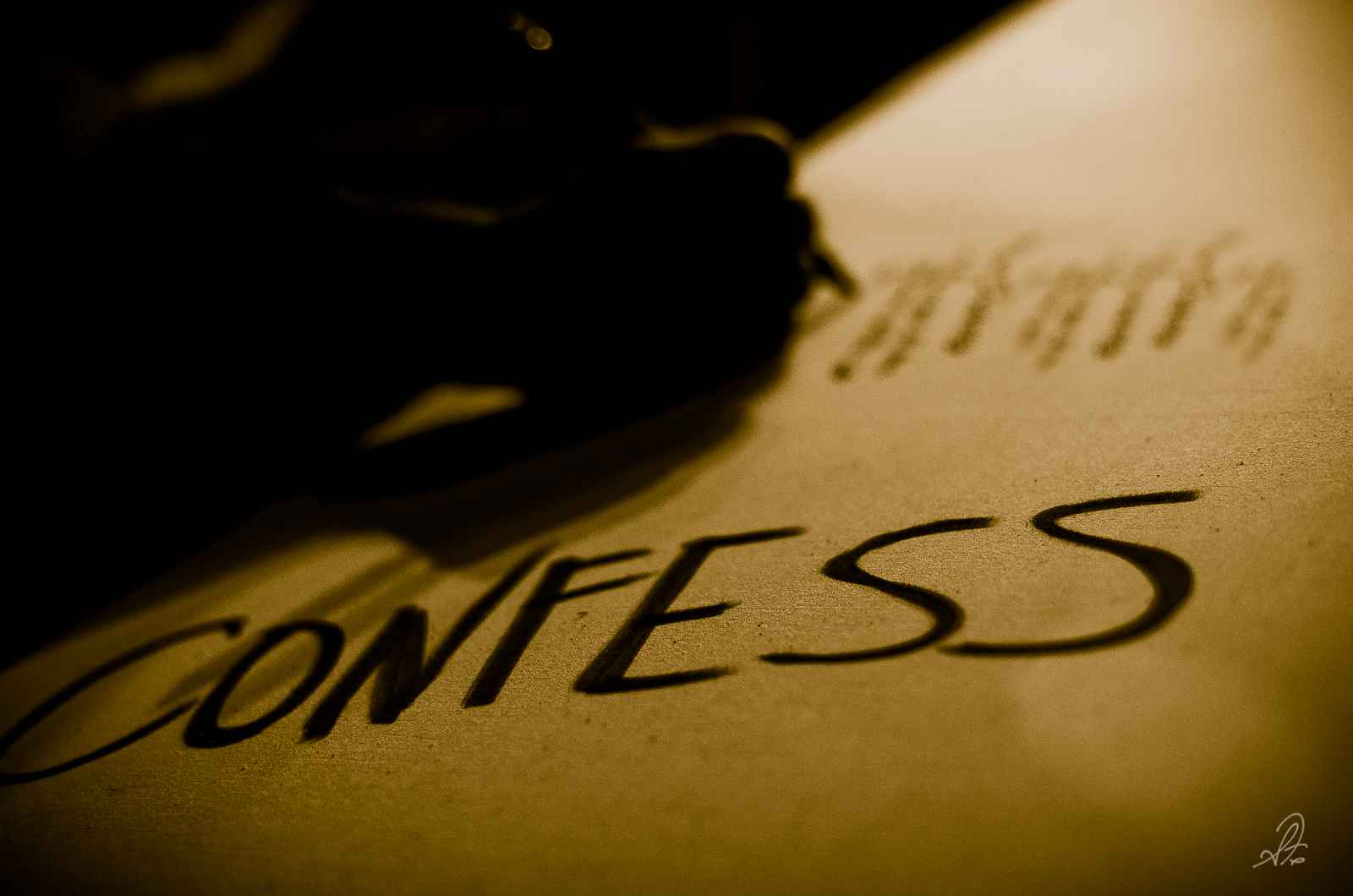 confession in law of evidence