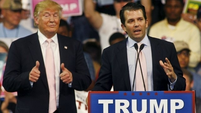 Donald Trump's son and son-in-law met Hillary Clinton Lawyer's during the 2016 election campaign
