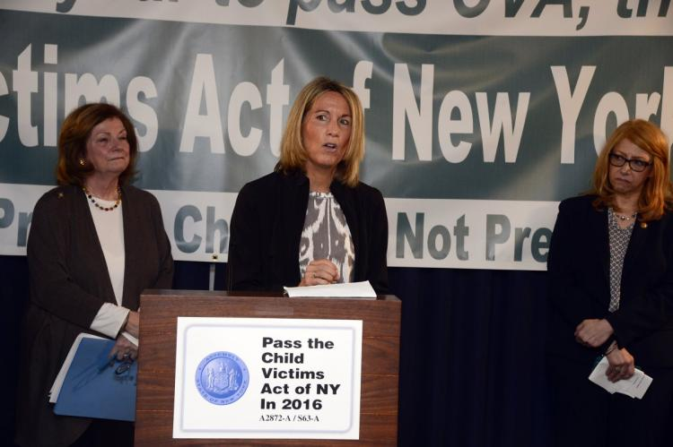Child Abuse Advocates Attempt To Build Support For Changing New York Abuse Law
