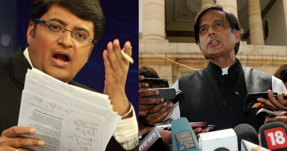 Delhi HC Declines To Restrain Arnab Goswami, Republic TV From Discussing Sunanda Pushkar's Death Case
