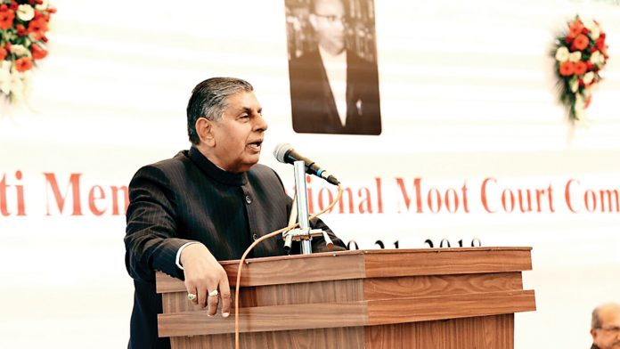 Choose Courts Not MNCs, Justice BS Chauhan Tells Law Students