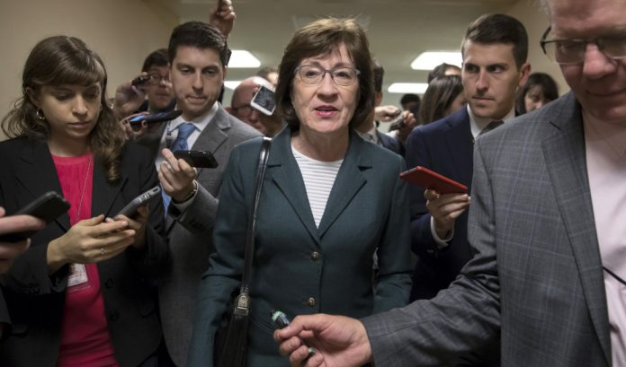 New Tax Law For The Benefit Of Hardworking Americans Not Elites, Sen Collins Says