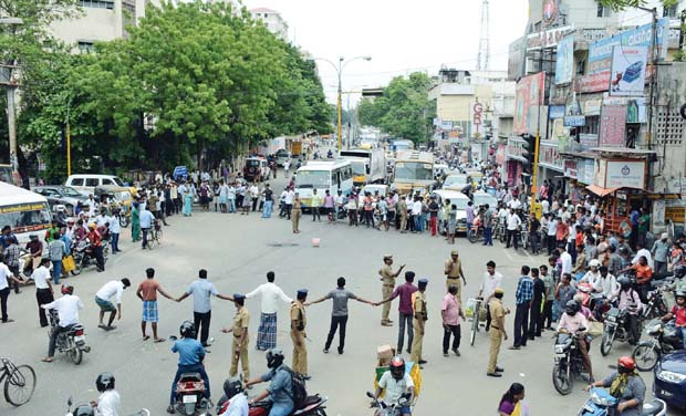Law Students Agitation Against Shifting Of College Remains Constant